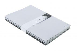 Set of 4 Dégradé sewn notebooks