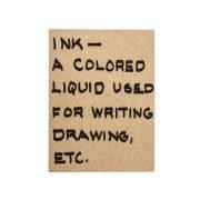 מחברת INK קראפט- פרונטלי