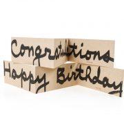 כרטיסי ברכהHappy Birthday + Congratulations קראפט