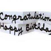 כרטיסי ברכהHappy Birthday + Congratulations לבן
