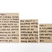 מחברות Handwriting בצבע קראפט