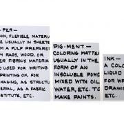 מחברות Handwriting בצבע לבן