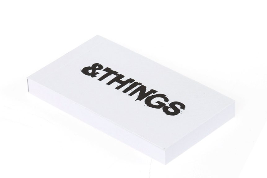 Small notepad NOTES & THINGS