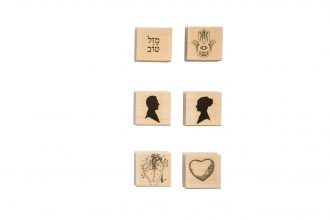 Wood stamps |size: 3.6x3.6 cms