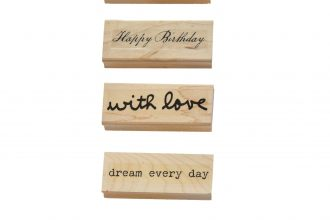 Wood stamps | size: 8.3x3 cms