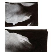 קלמר, נרתיק ותיק קלאצ' מקנבס פיגמנט (כתם פחם) בנגטיב