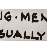 קלמר קנבס Handwriting | פיגמנט | אותיות גדולות | בצבע לבן