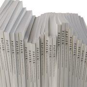 מחברות Letters עם אות לועזית