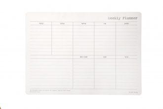 לוח תכנון שבועי בשפה העברית