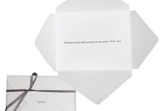 Together envelope greeting card