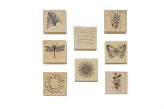 wood stamp | 6.4X6.4