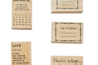 Wood Stamps | 7.6X5 cms
