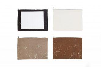 Vintage Canvas Black XL Clutch bags